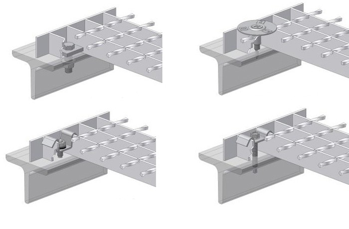 Forge Welded Grating Fixing Clips
